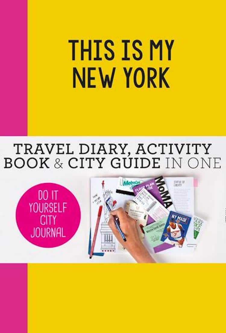 New York City Guided Travel Journal