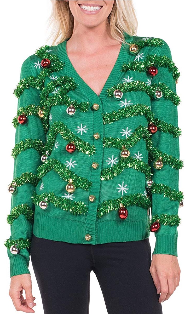 Suéter feo de navidad para mujer
