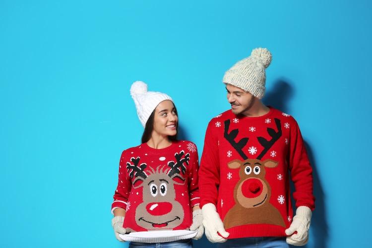 Ugly Sweater para fiesta de Navidad
