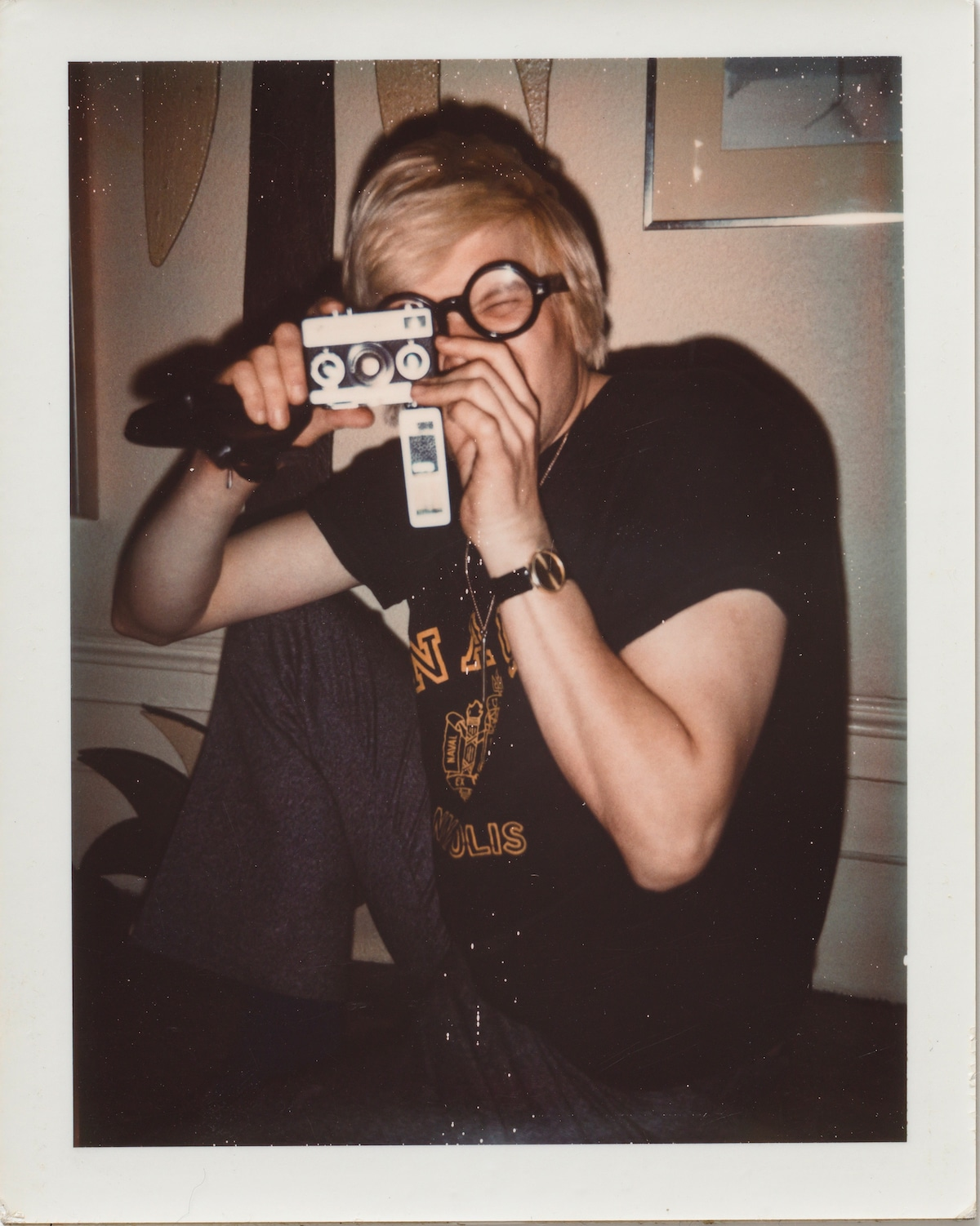 Andy Warhol Polaroid of David Hockney