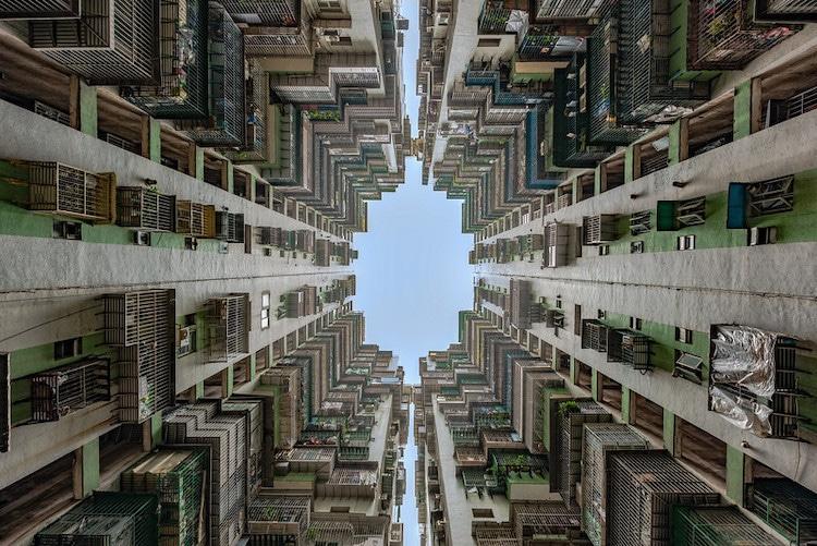 arquitectura brutalista hong kong