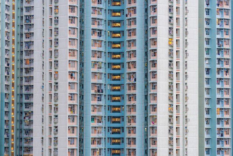edificios Hong Kong