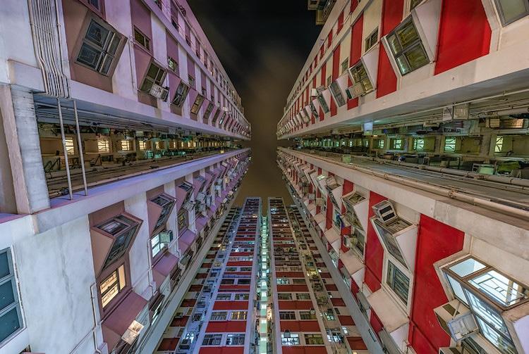edificios de Hong Kong por Dietrich Herlan