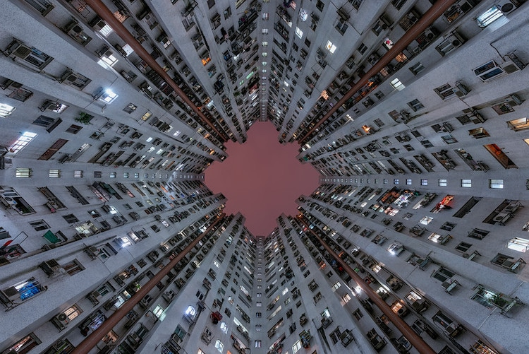 sobrepoblación en hong kong
