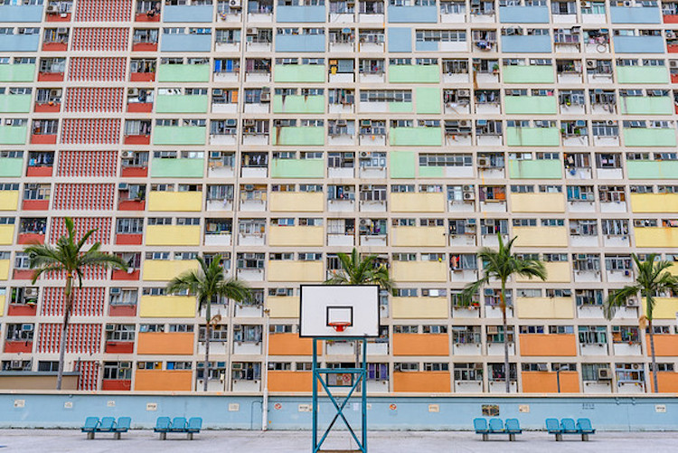 Hong Kong Basketball Court by Dietrich Herlan