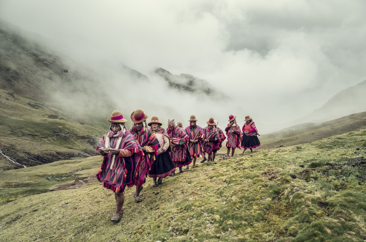 Indigenous People in Peru by Jimmy Nelson