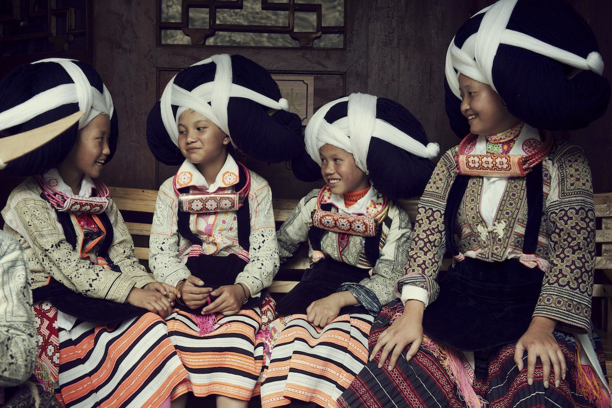 Indigenous People in China by Jimmy Nelson