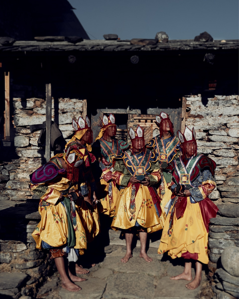 Indigenous People in Bhutan by Jimmy Nelson