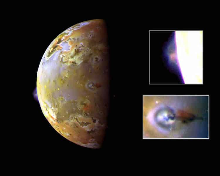Photo of Jupiter's Moon Io by JunoCam