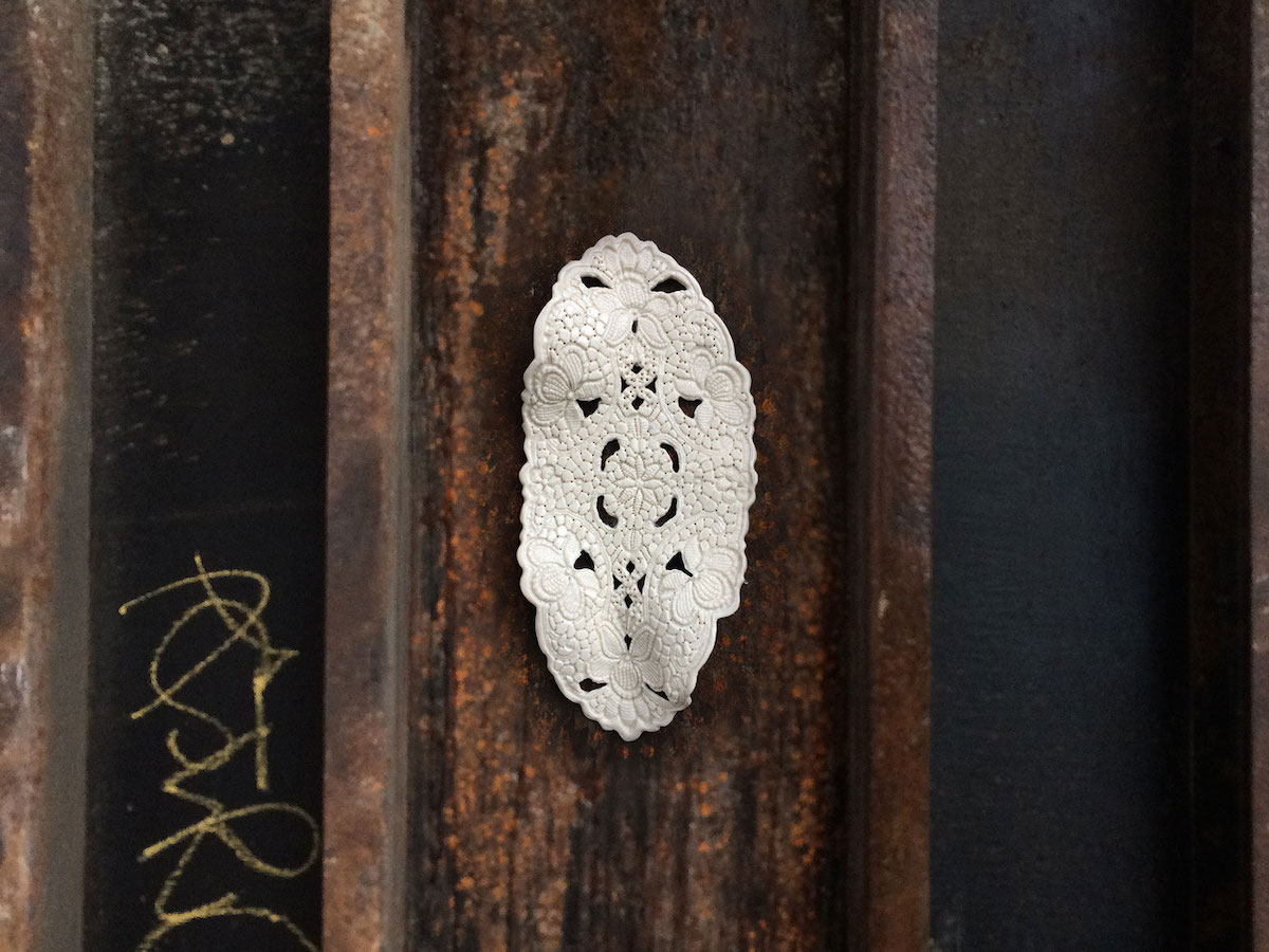 NeSpoon Lace Street Art