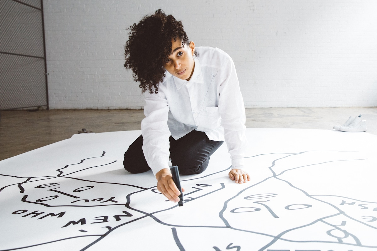Shantell Martin for the New York City Ballet Art Series