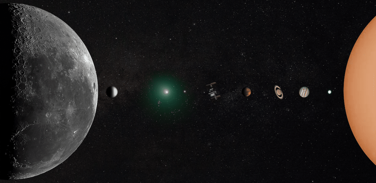 Solar System Composite Photograph by Andrew McCarthy