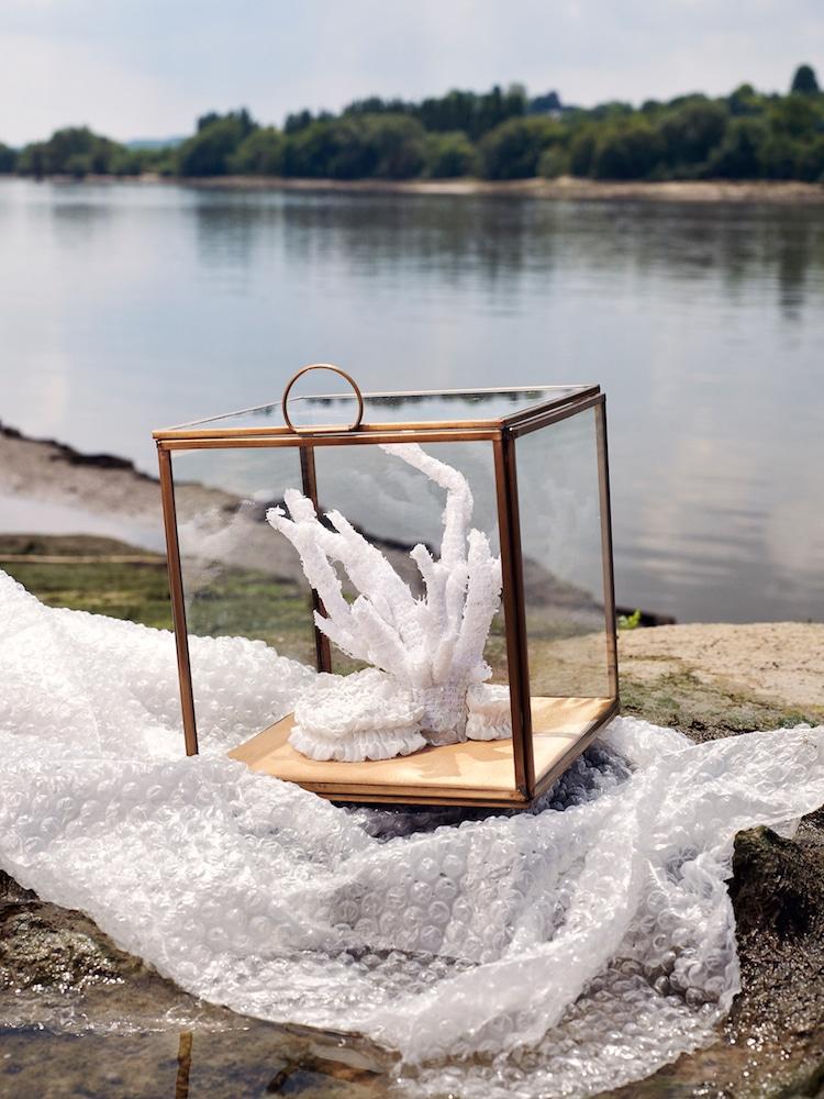 Poumons des Oceans by Aude Bourgine Textile Coral Reef Sculpture