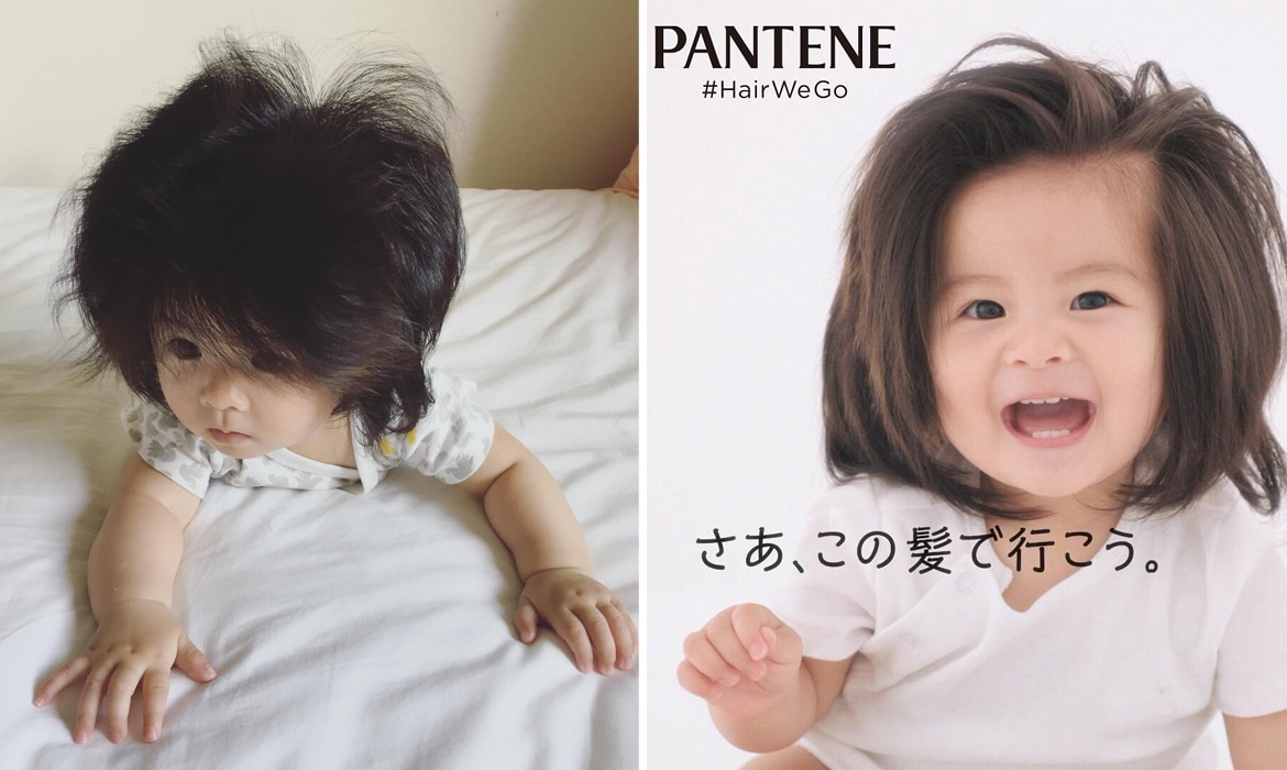 Chanco The Baby With Long Hair Is The New Face Of Pantene
