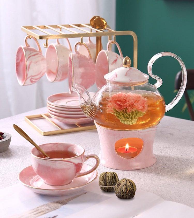 Blooming Flower Tea Set