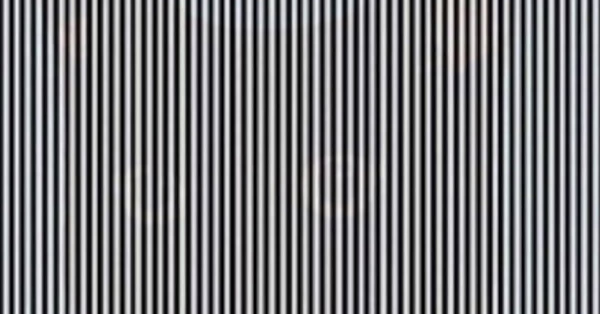 You Need to Shake Your Head to See the Hidden Animal in This Optical Illusion