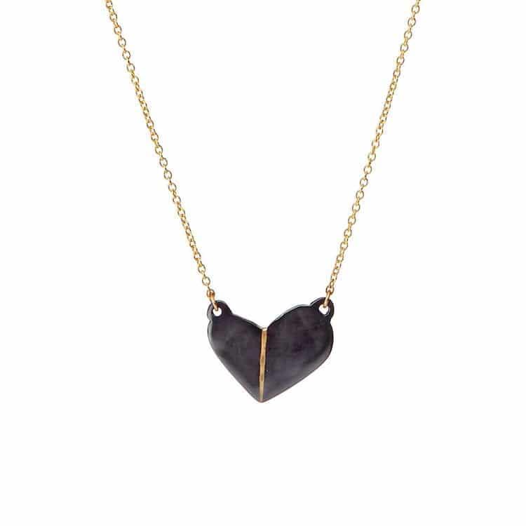 Unique Heart Necklace