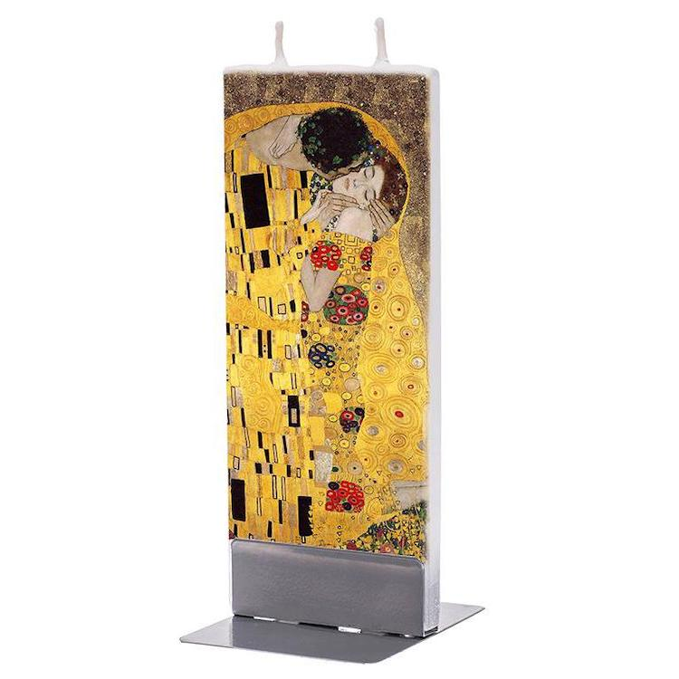 The Kiss by Klimt Candle
