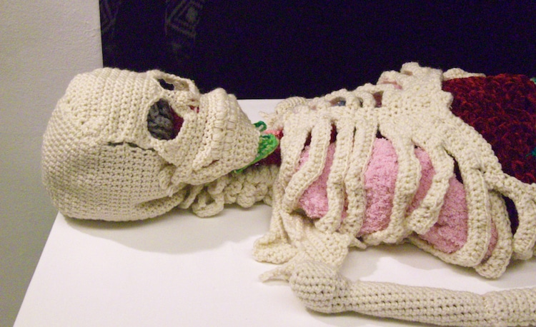 Crochet Skeleton by Shanell Papp