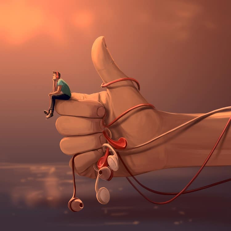 Surreal Digital Art by Cyril Rolando