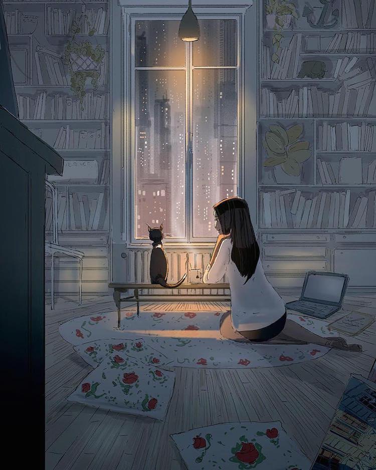 Цифровая Иллюстрация Паскаль Кэмпион