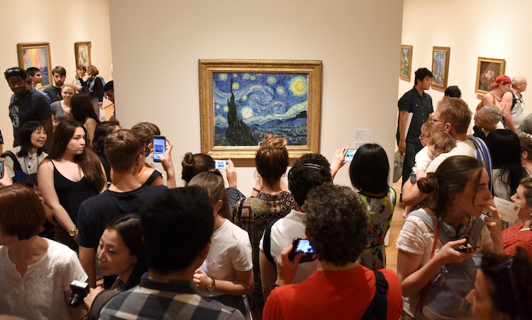 Where to See Famous Art Pieces Where is Starry Night Van Gogh