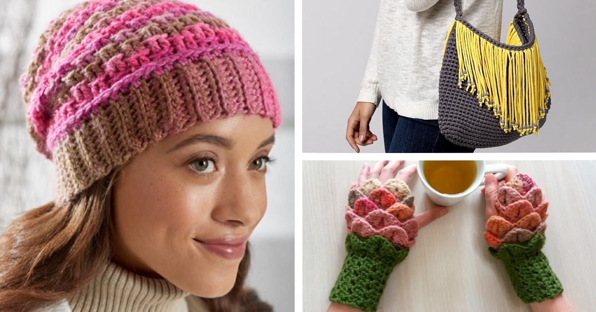 20 Modern And Free Crochet Patterns You Can Download Today