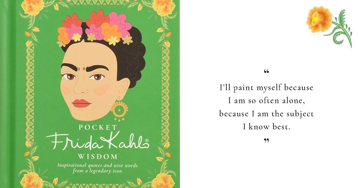 Frida Kahlo Wisdom Book