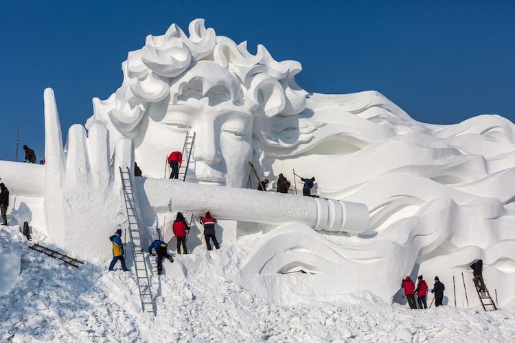 2018 Harbin International Ice and Snow Sculpture Festival