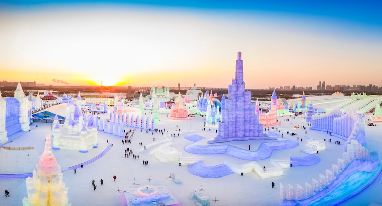 Image result for world largest ice festival 2019
