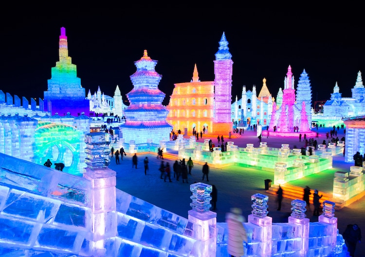 2019 Harbin International Ice and Snow Sculpture Festival