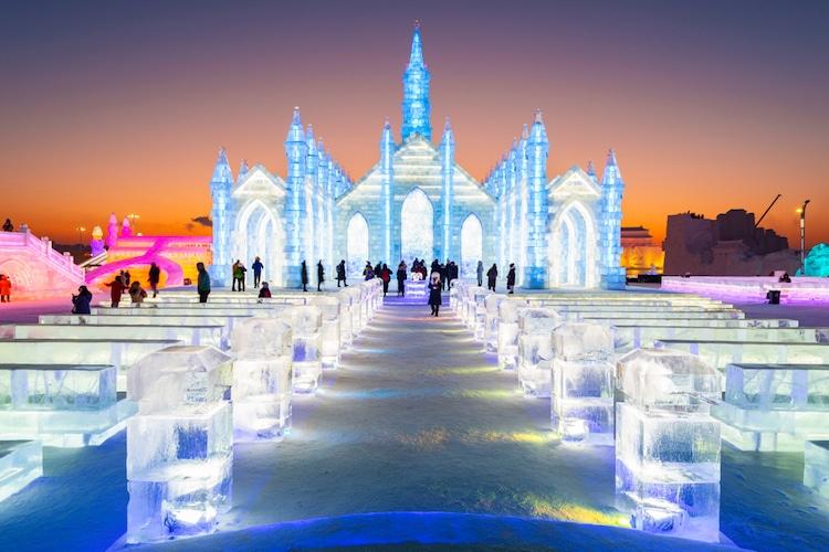 Festival de Esculturas de Hielo y Nieve de Harbin 2019