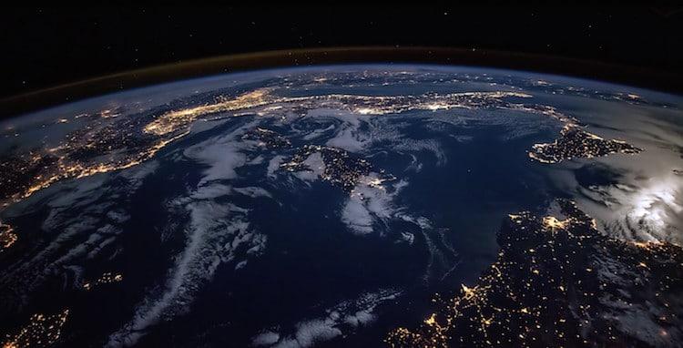 Tierra desde la Estación Espacial Internacional time-lapse