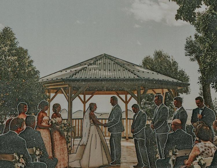 novia con discapacidad visual álbum de boda multisensorial