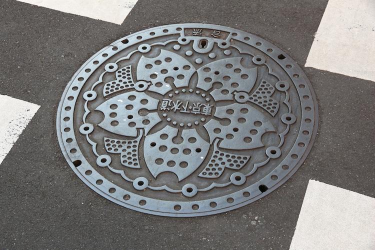 Diseño de Tapas de Alcantarilla en Japón
