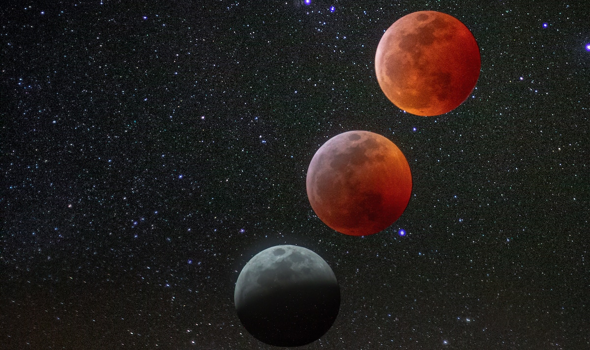 Amazing Moon Photography captures the rare Super Blood Wolf Moon