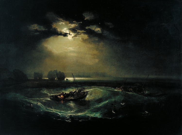 JMW Turner Paintings Modern Art Influences