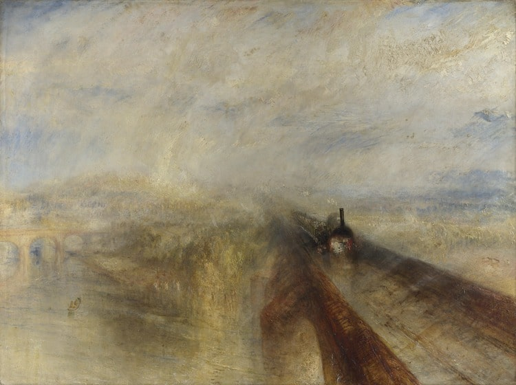 Lluvia, vapor y velocidad. El gran ferrocarril del Oeste de JMW Turner