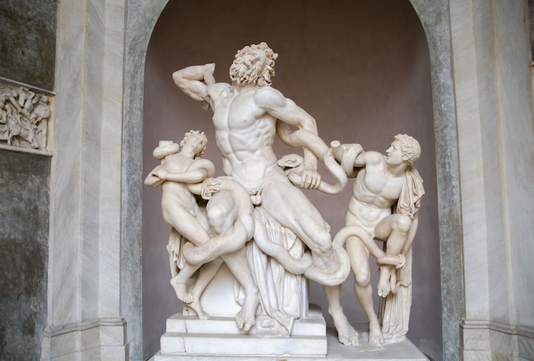 Laocoon and His Sons Laocoon Statue Laocoon Sculpture