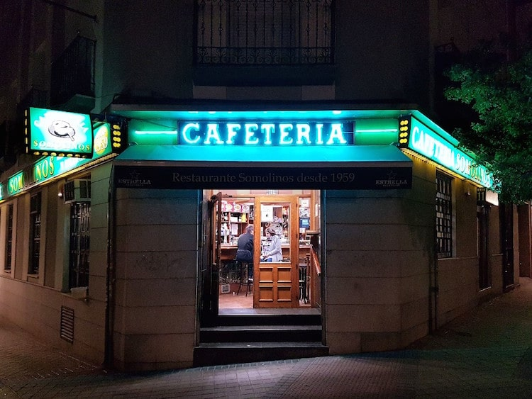 Madrid No-Frills Dive Bars Photos by Leah Pattem