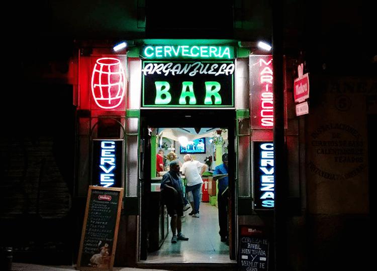 bares de Madrid No-Frills por Leah Pattem