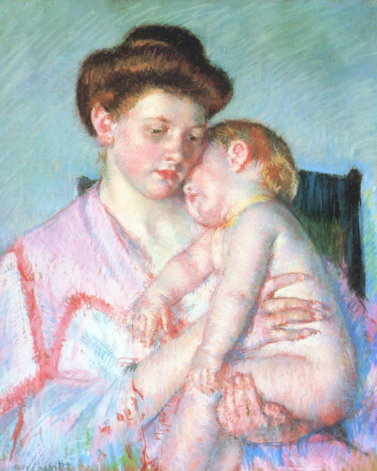 Mary Cassatt - Pastel Paint