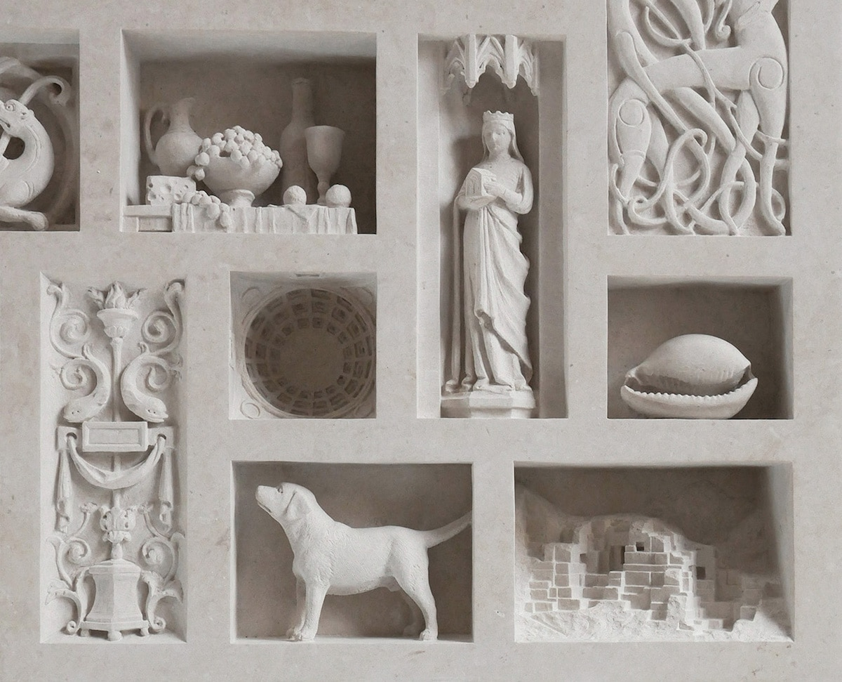 Architectural Sculptures Marble Models Matthew Simmonds