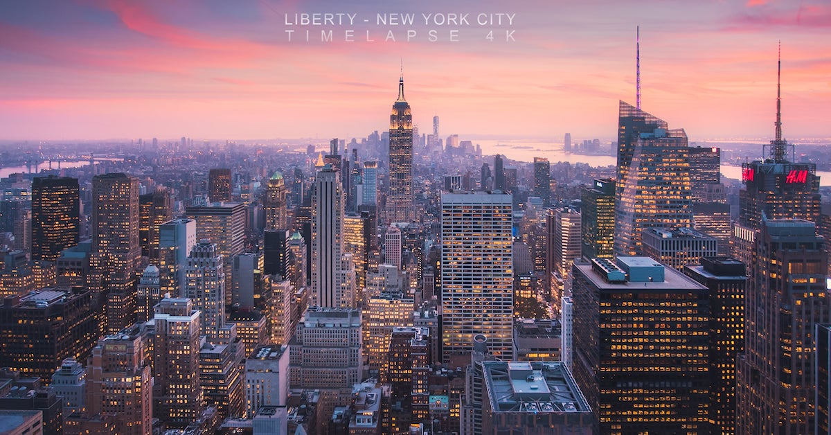 dazzling new york city time lapse captures the city that. Black Bedroom Furniture Sets. Home Design Ideas