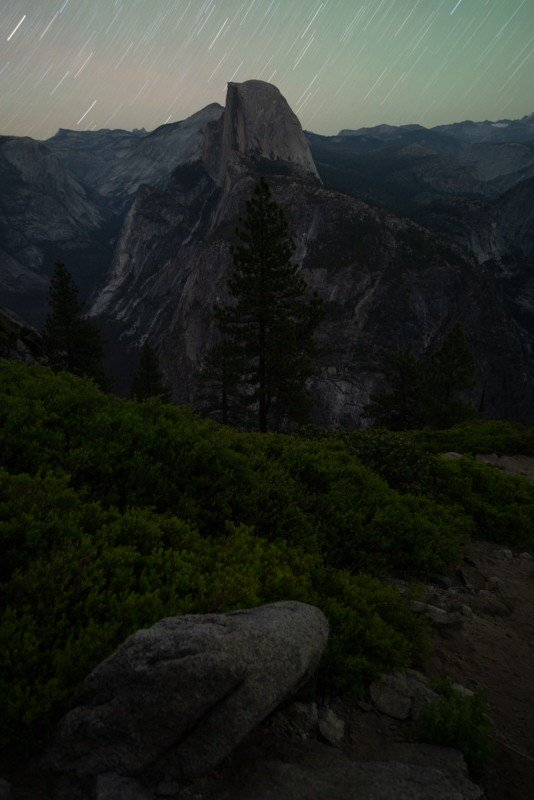 Night Photography in Yosemite
