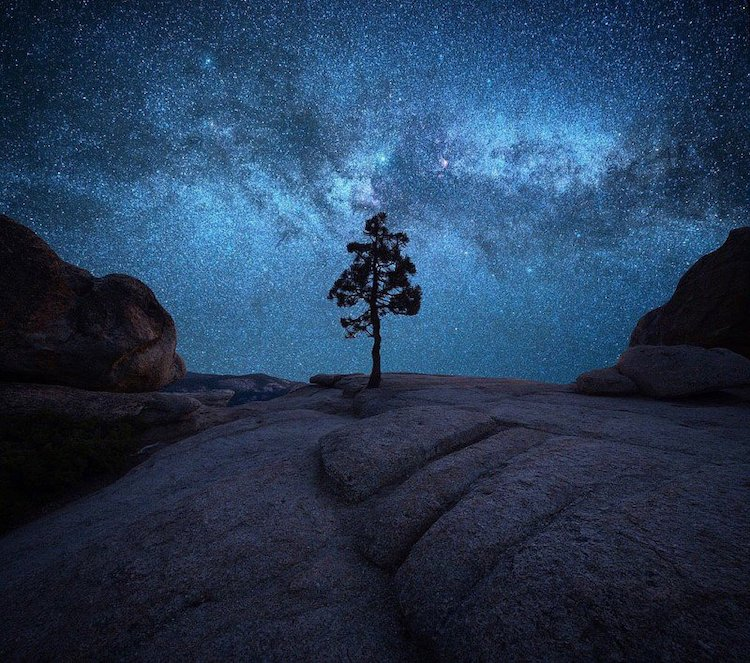 Milky Way Over Yosemite by Derek Sturman