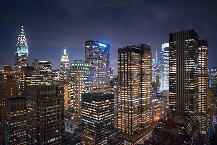 New York City Time Lapse by Michael Shainblum