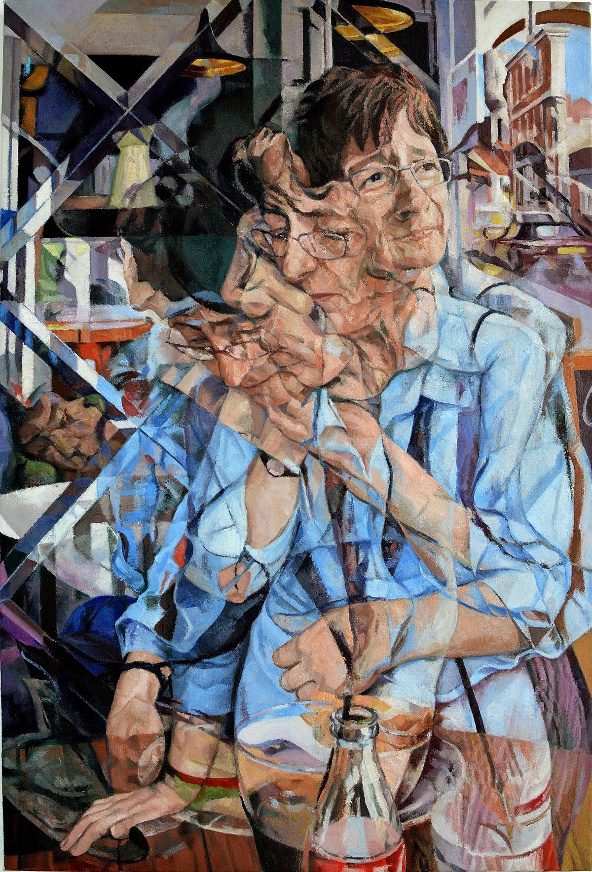 Pinturas al óleo multidimensionales por Clive Head