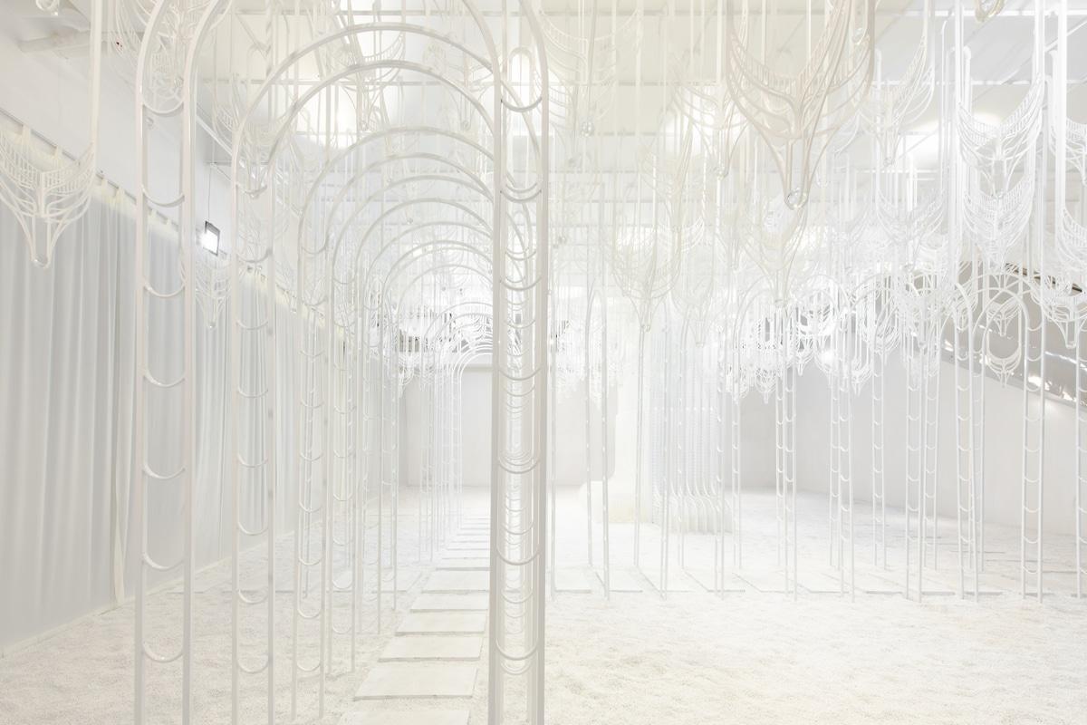 Pamela Tan Garden of Eden Instalación arquitectónica
