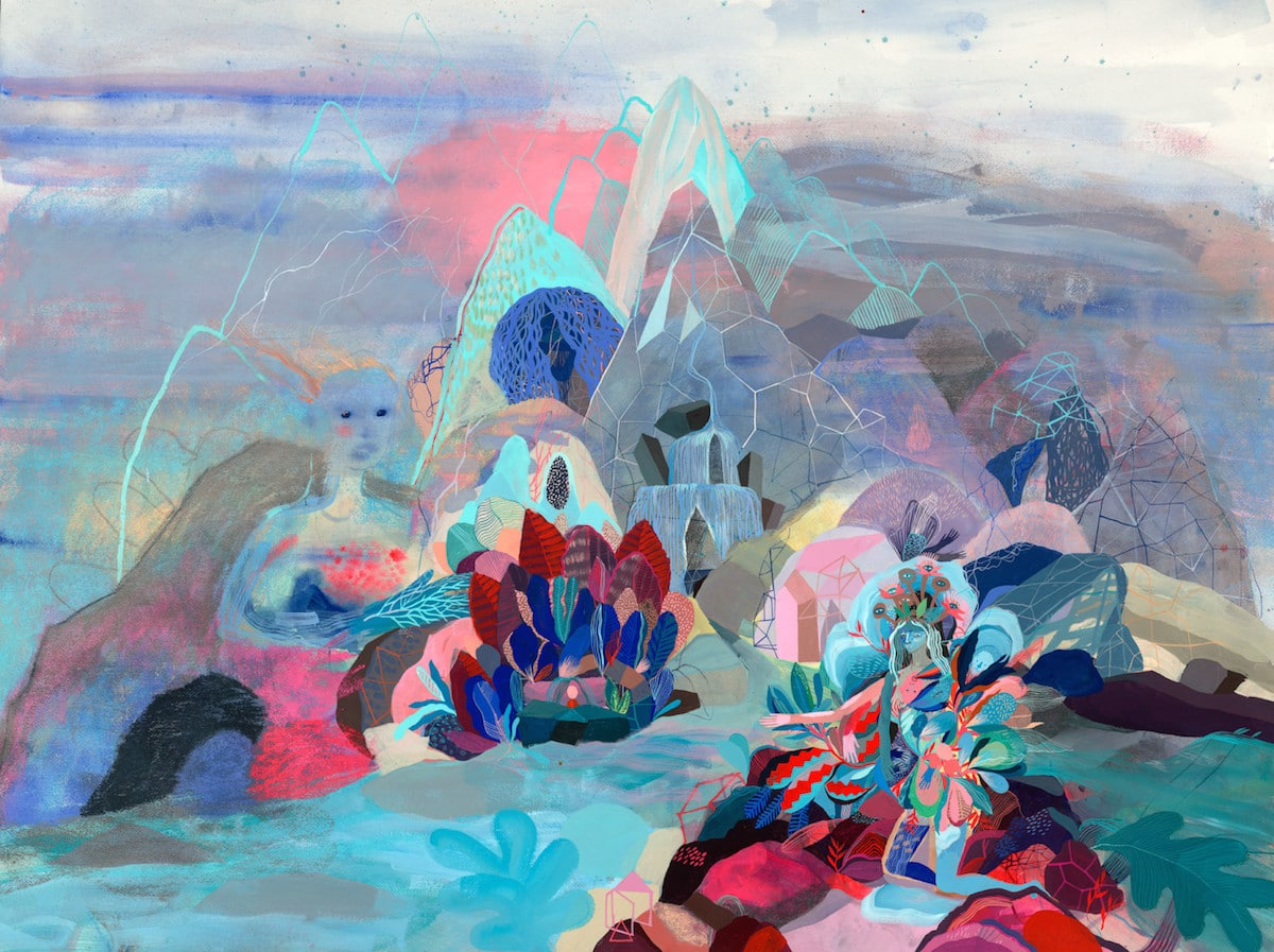 Psychedelic Paintings by Betsy Walton